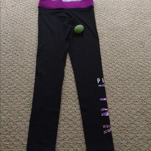 PINK Victoria's Secret Pants - S VS PINK reversible leggings
